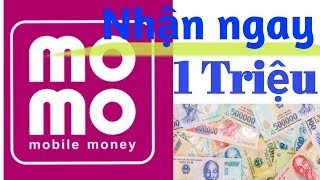 Kiếm tiền online, kiếm ngay 1 triệu trên momo