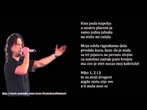 Aca Lukas  Niko 1,2 i 3  Audio 2000
