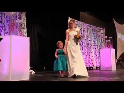 Bridal Runway Fashion Show At The International Wedding Festival
