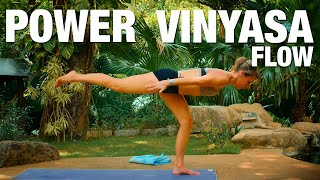 Power Vinyasa Flow Yoga Class - Five Parks Yoga