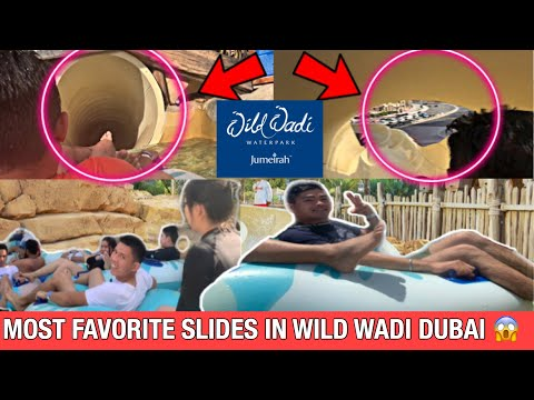 LONGEST SLIDES IN WILD WADI WATERPARK DUBAI