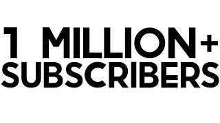 1 Million Subscribers! (Face Reveal)