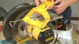 How To Replace The Handle Assembly On A Dewalt Dw703 Miter Saw