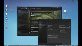 Steam on PC-BSD - How to Get Wine Running 3D Games