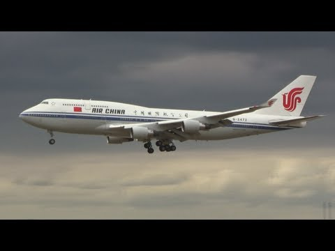 """Air Force One"" of China - B747-400 