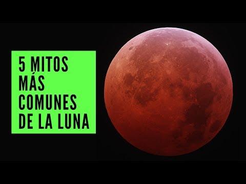 Los 5 mitos más comunes de la Luna