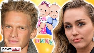Cody Simpson Dishes On BABIES With Miley Cyrus!
