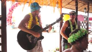 Над городом под гавайскую гитару - М.Бунин/А.Кербс