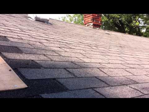 Ridge vent on a steel roof
