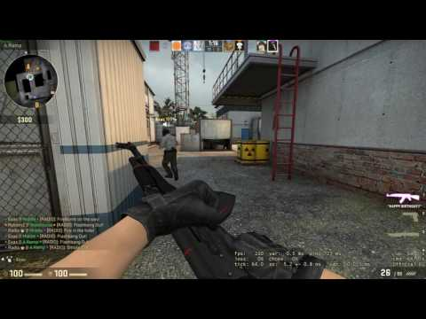 Counter-strike  Global Offensive | Ocean Man Karaoke