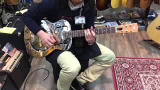 EPIPHONE Dobro Hound Dog M-14 Metal Body  リゾネーターギター【石橋楽器心斎橋店】