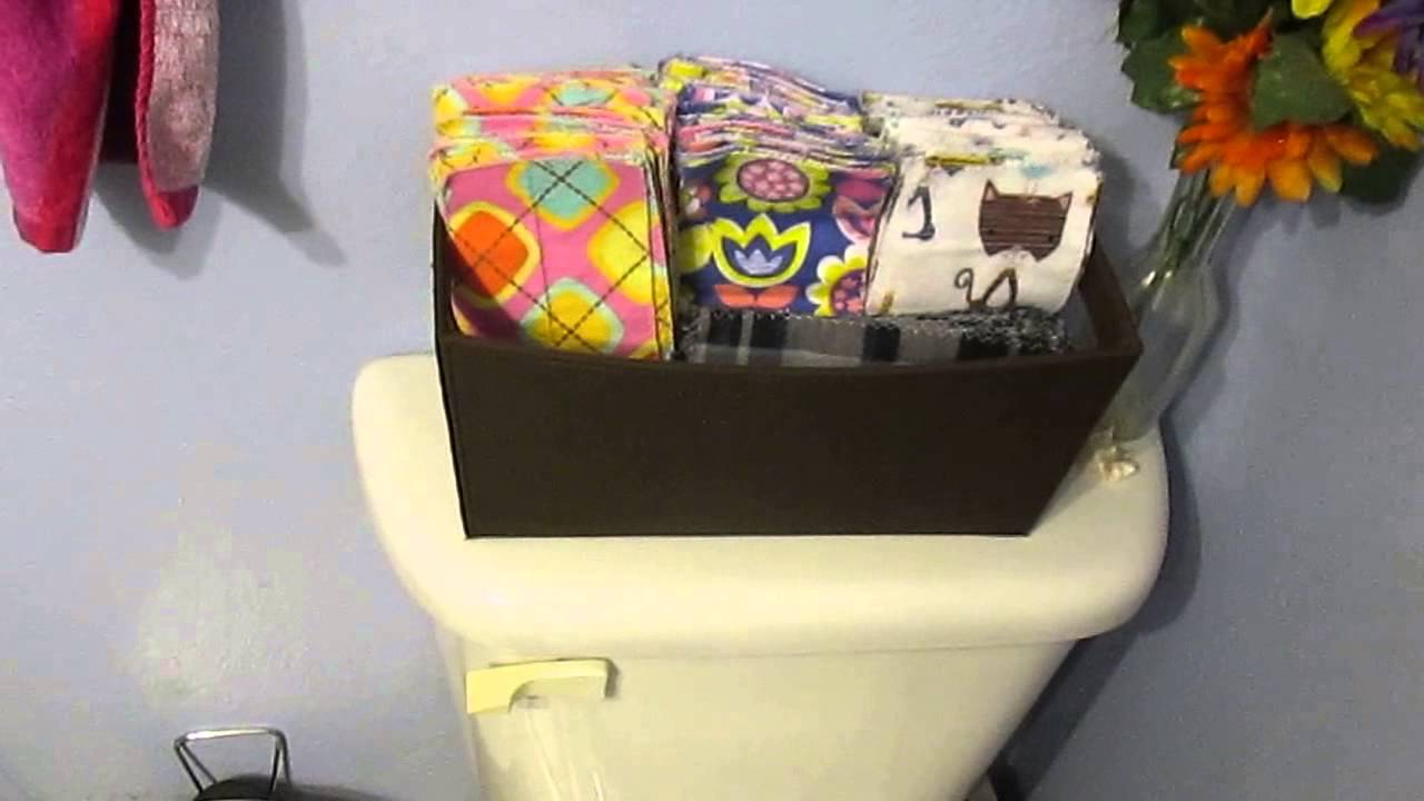 Cloth Toilet Paper (?!) - YouTube