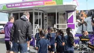 The FA Girls Football Festival in association with Continental Tyres visits West Riding