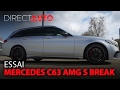 Essai - MERCEDES C63 AMG S BREAK