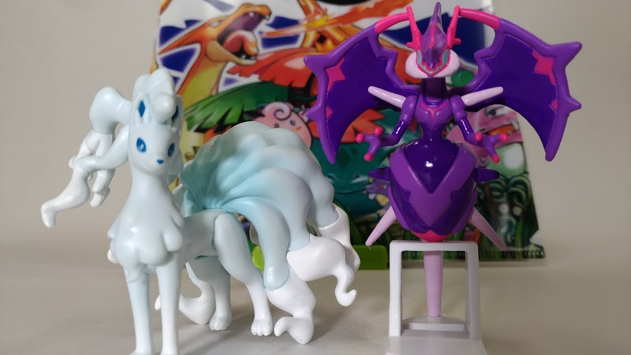 Takara Tomy Pokemon Moncolle EX Ninetales ESP/_06 Alola