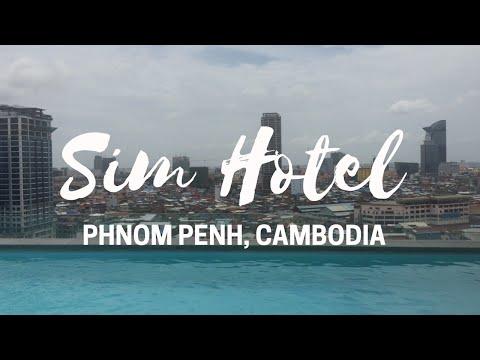 EXPLORING EMAN SIM BOTIQUE HOTEL PHNOM PENH CAMBODIA   5 STAR   AMAZING 360 ROOFTOP VIEW