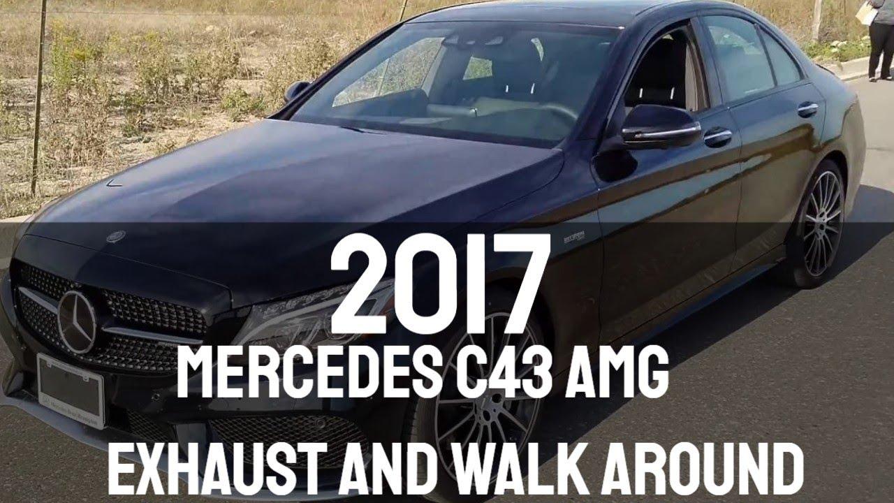 2017 Mercedes C43 AMG Exhaust and Walk Around