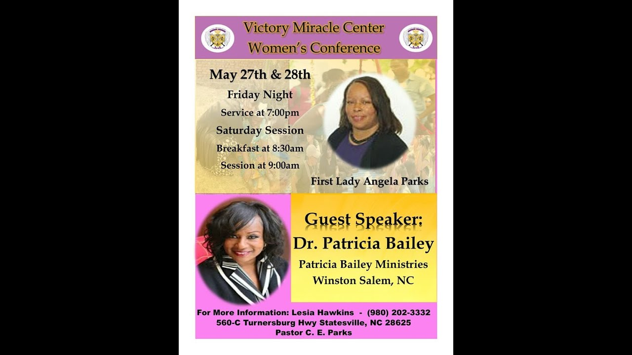 Victory Miracle Center Women S Conference Youtube