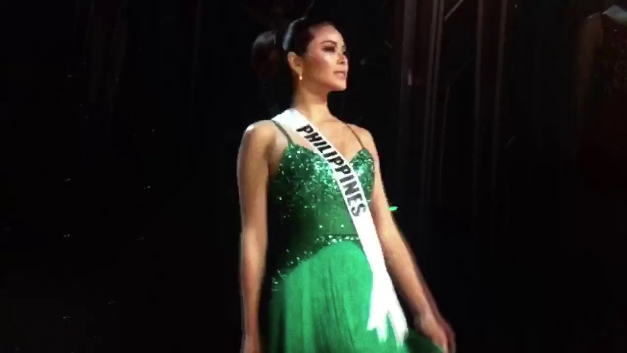 Miss Universe Philippines Maxine Medina - Preliminary Evening Gown ...