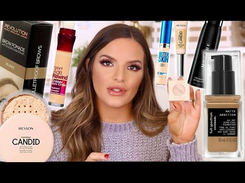 DRUGSTORE MAKEUP STAPLES AND HAUL | Casey Holmes