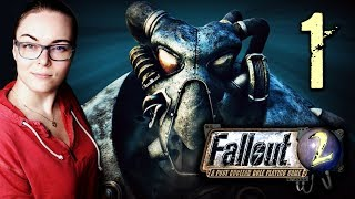 Lilia Plays Fallout 2 BLIND #1 - Post Apocalyptic Roleplaying Cheese | STREAM