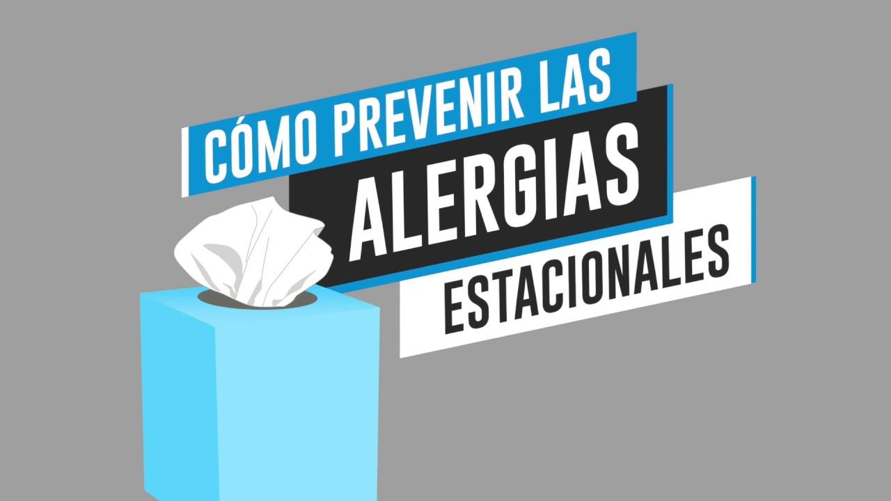 Consejos para prevenir alergias estacionales