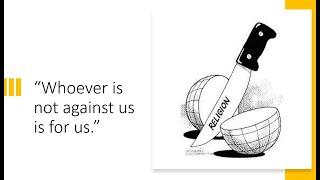 Whoever is not against us is for us | Revd. Iain Osborne