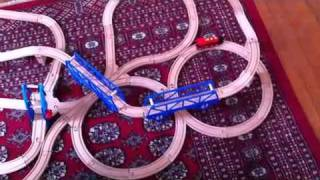 Wooden Train Great Track Design