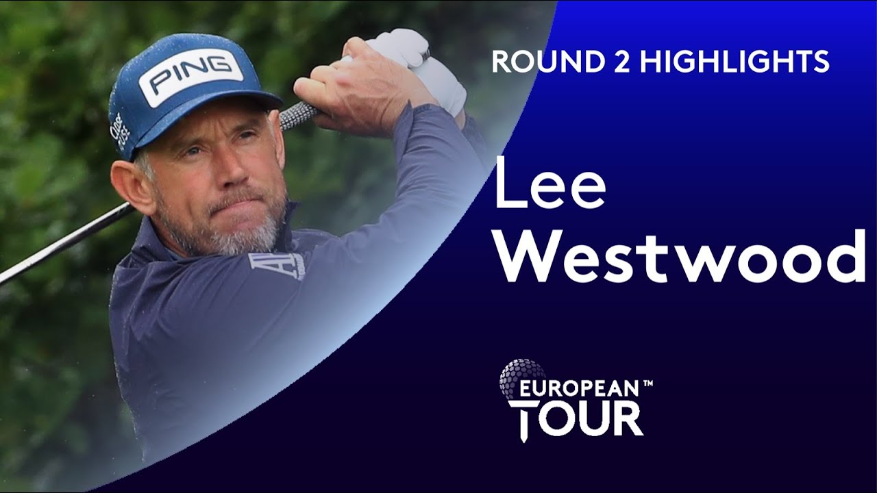 Lee Westwood battles to make cut at his home course | 2020 Betfred British Masters Highlights