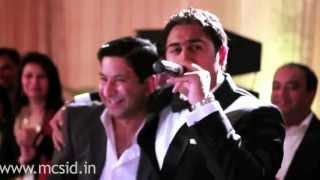 MC SID LIVE..!!! Sangeet & Cocktail performance Showreel.