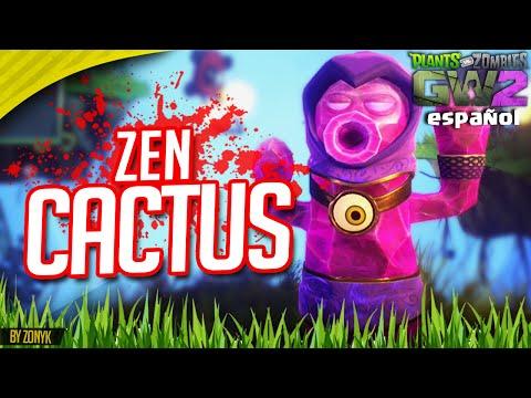 """""""ZEN CACTUS"""" (Todos los Personajes #8) - PvZ Garden Warfare 2 - Español"""