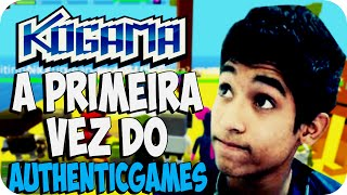 Kogama - A primeira vez do AuthenticGames