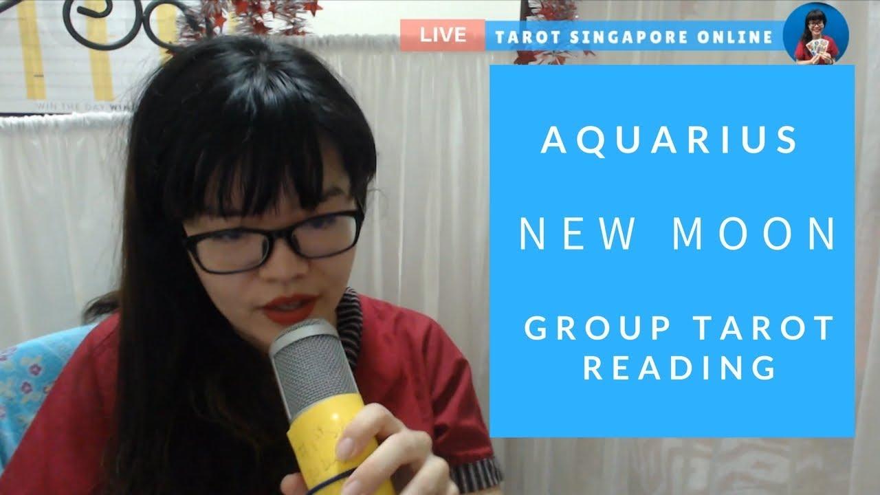 February 2018 New Moon in Aquarius tarot reading - Tarot