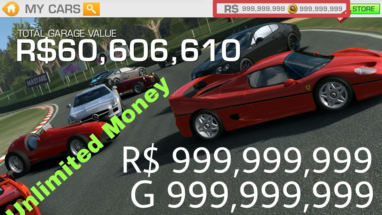 Real Racing 3 5 2 0 Hack Download Apk And Obb Hack No Root Youtube