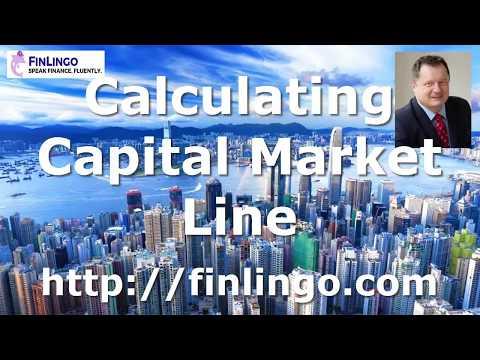 Calculating Capital Market Line
