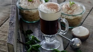 Irish Coffee And No-bake Irish Cream Cheesecake For St. Patrick's Day