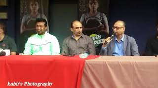 Press Conference for release of CFSI film 'Tennis Buddies'