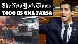 New York Times DESBARATÓ las mentiras de la AYUDA HUMANITARIA para VENEZUELA