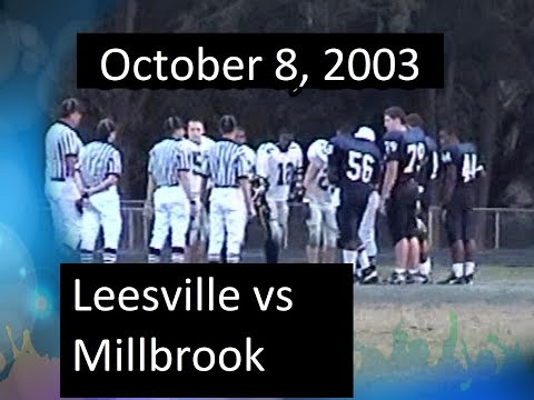 2003_10_08 - Leesville vs Millbrook
