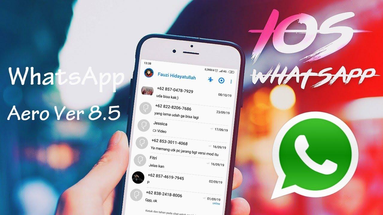 Whatsapp Aero Official Apk Mod Download Upgrade Terbaru 2021