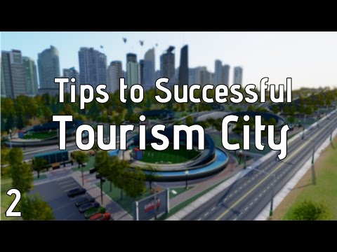 Simcity Tips for Tourism ► Part 2 ► Transportation Options