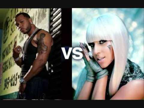 Flo Rida Right round  Vs. Lady GaGa Love Games  NEW REMIX