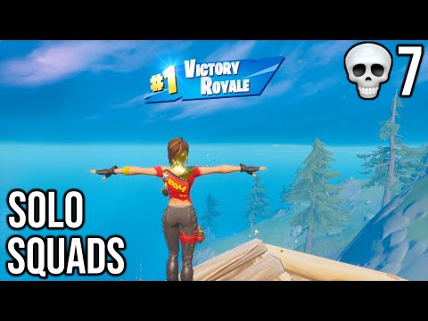 """FORTNITE First Win With GOLD """"TNTINA"""" SKIN (SOLO SQUADS) 