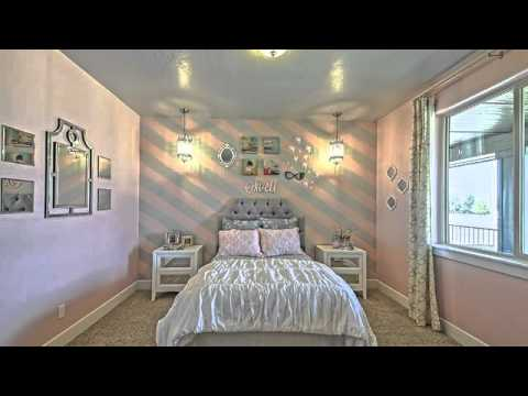 Elegant Pink And Gray Bedroom Designs