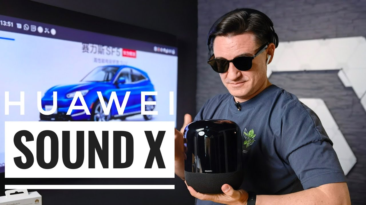 Huawei Sound X, FreeBuds 4i & Studio, Gentle Monster  - Unboxing & Review