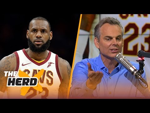 Colin on LeBron's ejection vs the Heat, Durant and Steph Curry talking Lonzo Ball | THE HERD