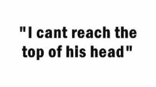 Adam Sandler - Seven Foot Man [Lyrics Video]