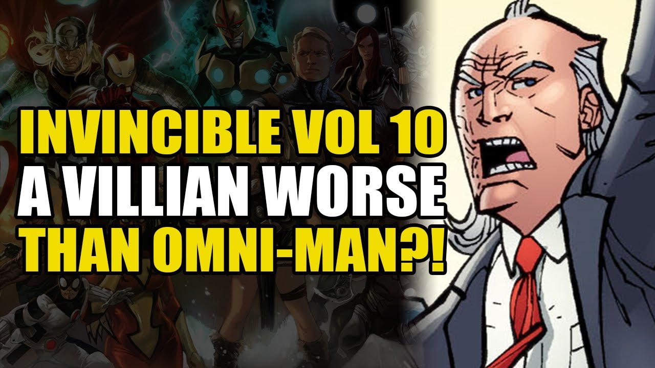 A Villain Worse Than Omni-Man?!: Invincible Vol 10 Who's The Boss | Comics Explained