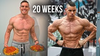 My 20 Week NATURAL Transformation (SHOW DAY!)