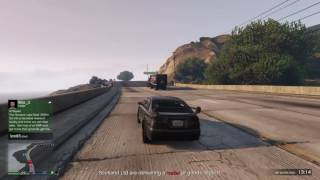 Grand Theft Auto V - CEO Mode - Trying to steal someone elses cargo - EPIC CHASE